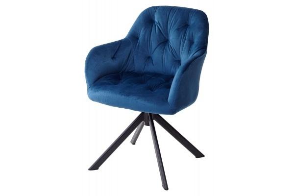 Стул CROCUS ASH BLUE поворот.360 град. M-City купить в салоне-студии мебели Барселона mnogospalen.ru много спален мебель Италии классические современные