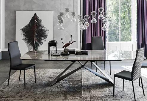 Стол CATTELAN ITALIA PREMIER KERAMIK купить в салоне-студии мебели Барселона mnogospalen.ru много спален мебель Италии классические современные
